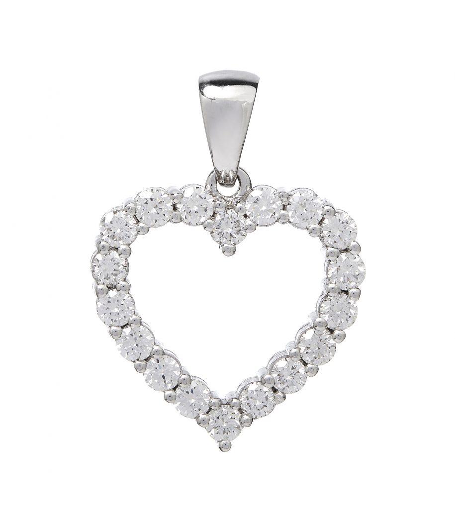 smykkefoto diamantvedhæng