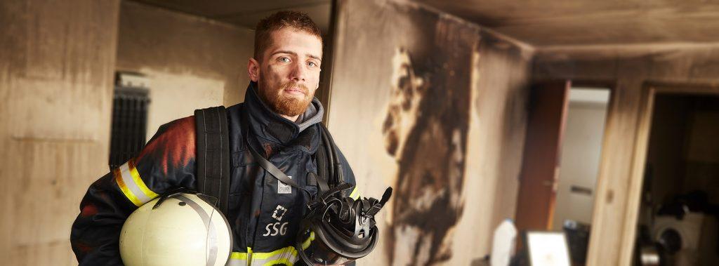erhvervsfoto Brandmand